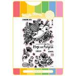 Waffle Flower Crafts - Craft Die and Acrylic Stamp Set - Enveloper Hugs
