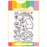 Waffle Flower Crafts - Craft Die and Acrylic Stamp Set - Summer Time