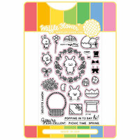 Waffle Flower Crafts - Craft Die and Acrylic Stamp Set - Hoppy