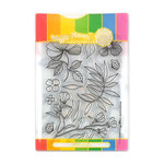 Waffle Flower Crafts - Craft Die and Acrylic Stamp Set - Bouquet Builder 1