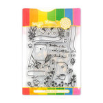 Waffle Flower Crafts - Craft Die and Acrylic Stamp Set - Therefore I Am