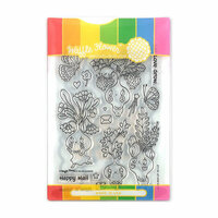 Waffle Flower Crafts - Craft Die and Acrylic Stamp Set - Let Love Grow