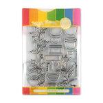 Waffle Flower Crafts - Craft Die and Acrylic Stamp Set - Spice Garden