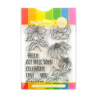 Waffle Flower Crafts - Craft Die and Acrylic Stamp Set - Bouquet Builder 2