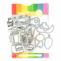 Waffle Flower Crafts - Craft Die and Photopolymer Stamp Set - We Blend