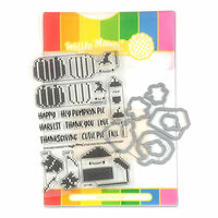 Waffle Flower Crafts - Craft Die and Photopolymer Stamp Set - Stitched Harvest