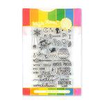 Waffle Flower Crafts - Halloween - Craft Die and Photopolymer Stamp Set - Hocus Pocus