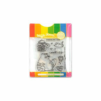 Waffle Flower Crafts - Craft Die and Photopolymer Stamp Set - Cookie Love