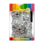 Waffle Flower Crafts - Craft Die and Photopolymer Stamp Set - Magnolia