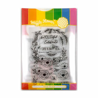 Waffle Flower Crafts - Craft Die and Photopolymer Stamp Set - Be You Tiful