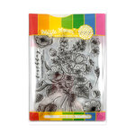 Waffle Flower Crafts - Craft Die and Photopolymer Stamp Set - Bouquet Builder 3