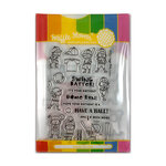 Waffle Flower Crafts - Craft Die and Photopolymer Stamp Set - Batter