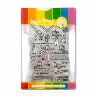 Waffle Flower Crafts - Craft Die and Photopolymer Stamp Set - Tumble On