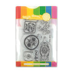 Waffle Flower Crafts - Craft Die and Photopolymer Stamp Set - Grateful