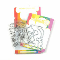 Waffle Flower Crafts - Craft Die and Photopolymer Stamp Set - Wedding Day