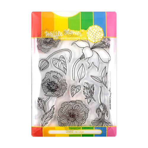 Waffle Flower Crafts - Craft Die and Photopolymer Stamp Set - Bouquet Builder 4 Combo