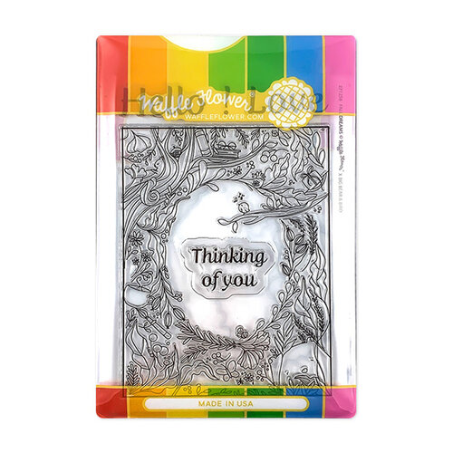 Waffle Flower Crafts - Craft Die and Photopolymer Stamp Set - Fall Dreams Combo
