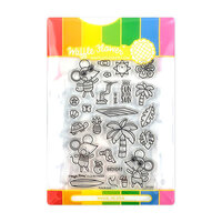 Waffle Flower Crafts - Craft Die and Photopolymer Stamp Set - Fun in Sun Combo