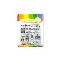 Waffle Flower Crafts - Craft Die and Photopolymer Stamp Set - Favorite Hobby Combo