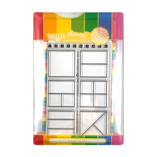 Waffle Flower Crafts - Craft Die and Photopolymer Stamp Set - Color Combos Combo