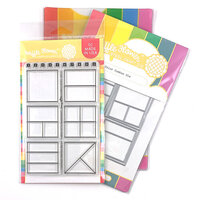 Waffle Flower Crafts - Craft Dies and Photopolymer Stamp Set - Color Combos Combo
