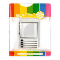 Waffle Flower Crafts - Craft Die and Photopolymer Stamp Set - Combo Swatch Combo