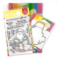 Waffle Flower Crafts - Craft Die and Photopolymer Stamp Set - Bear Hugs Combo