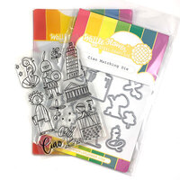 Waffle Flower Crafts - Craft Die and Clear Photopolymer Stamp Set - Ciao Combo