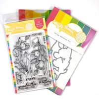 Waffle Flower Crafts - Craft Die and Photopolymer Stamp Set - Tulips