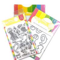 Waffle Flower Crafts - Craft Dies and Photopolymer Stamp Set - Sea Birthday