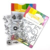 Waffle Flower Crafts - Craft Die and Photopolymer Stamp Set - Bouquet Builder 7