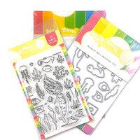 Waffle Flower Crafts - Craft Dies and Photopolymer Stamp Set - Mermaid Mail