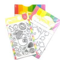 Waffle Flower Crafts - Craft Die and Photopolymer Stamp Set - Home Sweet Home