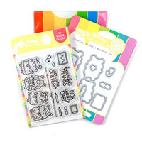 Waffle Flower Crafts - Craft Die and Photopolymer Stamp Set - Frontline Heroes 1