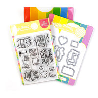 Waffle Flower Crafts - Craft Die and Photopolymer Stamp Set - Frontline Heroes 2