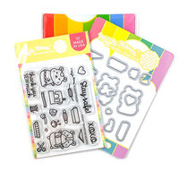 Waffle Flower Crafts - Craft Die and Photopolymer Stamp Set - Frontline Helpers