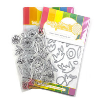 Waffle Flower Crafts - Craft Die and Clear Photopolymer Stamp Set - Simple Stems