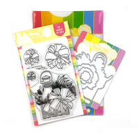 Waffle Flower Crafts - Christmas - Craft Dies and Clear Photopolymer Stamp Set - Bow Centerpiece