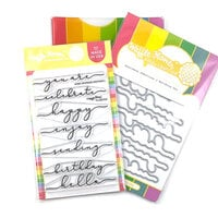 Waffle Flower Crafts - Craft Dies and Photopolymer Stamp Set - Sentiment Additions 2