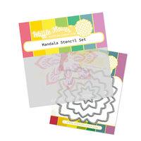Waffle Flower Crafts - Craft Die and Stencil - Mandala