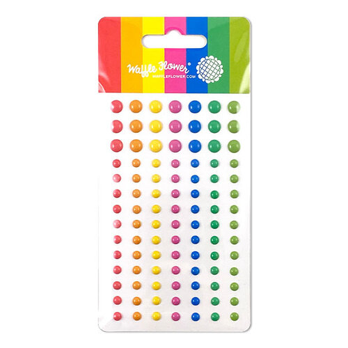 Waffle Flower Crafts Enchanted enamel dots