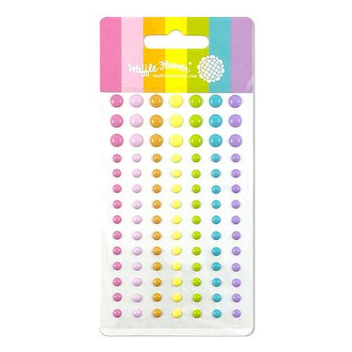 Waffle Flower Crafts - Enamel Dots - JJ's Rainbow