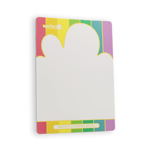 Waffle Flower Crafts - Cloud Magnetic Storage Board - Exclusive - 1 Single Board