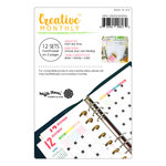 Waffle Flower Crafts - Planner Collection - Creative Monthly - Set of 12 - Undated