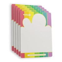 Waffle Flower Crafts - Cloud Magnetic Storage Boards - 5 Pack