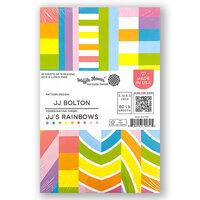 Waffle Flower Crafts - 5.5 x 8.5 Paper Pad - JJ's Rainbows