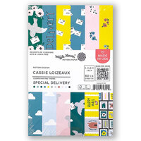 Waffle Flower Crafts - 5.5 x 8.5 Paper Pad - Special Delivery