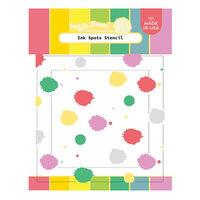 Waffle Flower Crafts - Stencils - Ink Spots