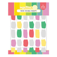 Waffle Flower Crafts - Stencils - Paint Strokes