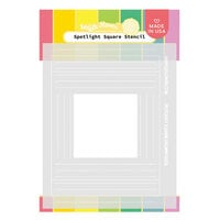 Waffle Flower Crafts - Stencils - Spotlight Square
